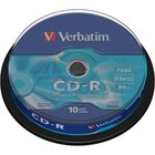 CD-R   VERBATIM/10ks  52x Extra,cake box