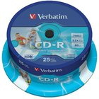 CD-R   VERBATIM/25ks  52x Print,cake box