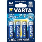bat.VARTA High En./4ks LR6 AA Alkalická
