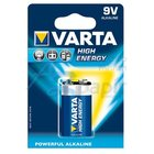 bat.VARTA High En./1ks 6LR61 9V  Alkalic